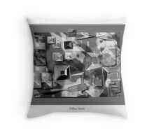 Business Tools Throw Pillow