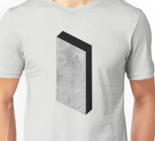 Moon and the Monolith, 2001 & 2010 Unisex T-Shirt