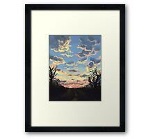 7 AM Framed Print