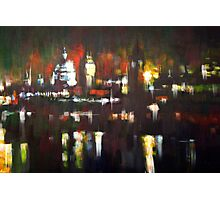 London Skyline Abstract Realism 2008 Photographic Print
