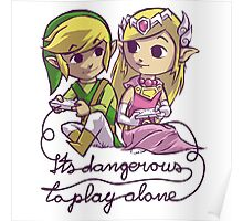 it's dangerous to play alone Poster