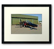 BAe Systems Hawk T.2 ZK021 Framed Print