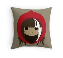 Cerise Hood Throw Pillow
