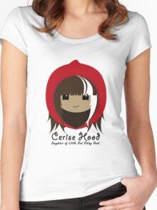 Cerise Hood Women's Fitted Scoop T-Shirt