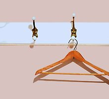 clothes hanger by Laurie Minor