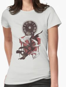 Existence in Time and Space Womens Fitted T-Shirt