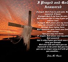 I PRAYED AND GOD ANSWERED by John Davis