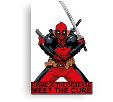 Deadpool - meet the cure #2 Canvas Print