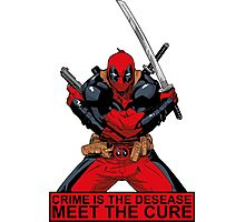 Deadpool - meet the cure #2 Photographic Print