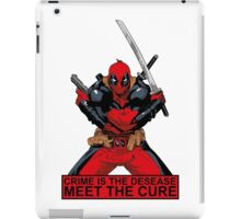 Deadpool - meet the cure #2 iPad Case/Skin