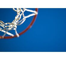 Shoot Hoops Photographic Print
