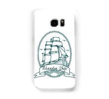 Abandon Ship Ship and Banner Samsung Galaxy Case/Skin