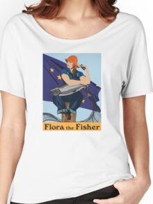 Flora the Fisher Women's Relaxed Fit T-Shirt