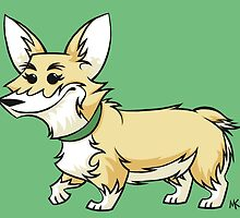 Corgi! by Megan Kelly