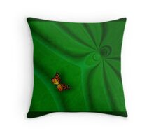 The Spiders Lair Throw Pillow