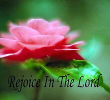 Rejoice In The Lord by Marie Sharp