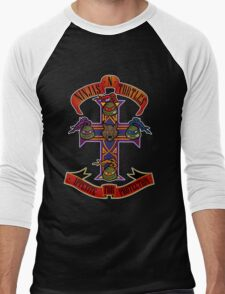 Ninjas N Turtles Men's Baseball ¾ T-Shirt