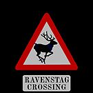 Ravenstag crossing by Laura Spencer