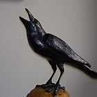 Still life crow by Judi Taylor