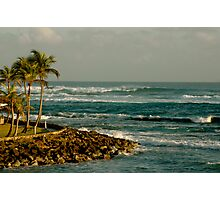 Caribe Hilton Beach Photographic Print