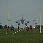 Close Call Landing by picart