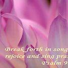 Sing Praises by Marie Sharp