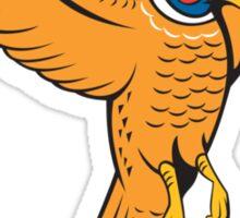 Pheasant Bird Fowl Flying Cartoon Sticker