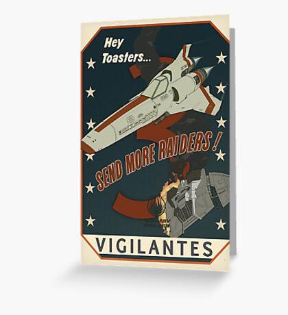 Vigilantes Greeting Card
