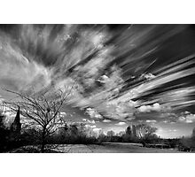 A Watched Sky Never Stops Photographic Print