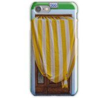 Striped awning at 966 iPhone Case/Skin