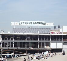 Redondo Landing on the Pier by tbaum