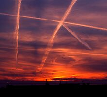 The air force plays tic tac toe with God by Tymlaird