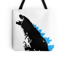 Godzilla Black and Blue Tote Bag