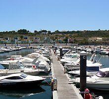 Albufeira Marina by mariarty
