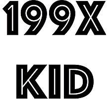 90's Kid Photographic Print