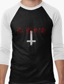 HELL HATH NO FURY Men's Baseball ¾ T-Shirt