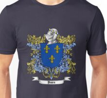 Brown Family Crest 2 Unisex T-Shirt