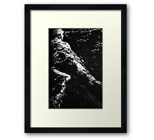 layed out Framed Print