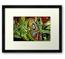 Tequila Worm Framed Print