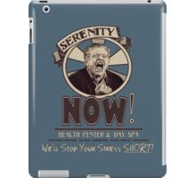 Serenity NOW Health Center & Day Spa iPad Case/Skin