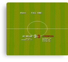 Liverpool's 2005 Champions League Win Canvas Print