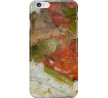 Algerian Green Bean and Lamb (or Beef) Tagine iPhone Case/Skin