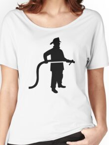 Firefighter Fireman Women's Relaxed Fit T-Shirt