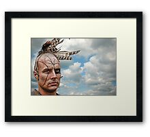 Young Warrior Framed Print