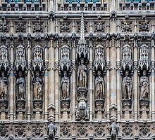 Palace of Westminster Detail #2 by Nicole Petegorsky