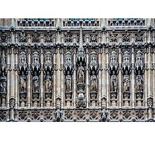 Palace of Westminster Detail #2 Photographic Print