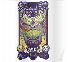 Majora's mask: The four giants Poster
