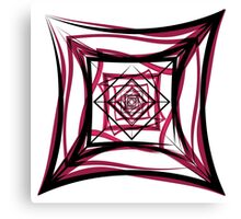 Rosey Tesseract Canvas Print