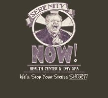 Serenity NOW Health Center & Day Spa (diSTRESSED) T-Shirt