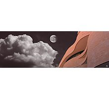 Sandstone Against the Sky - National Museum of the American Indian Photographic Print
